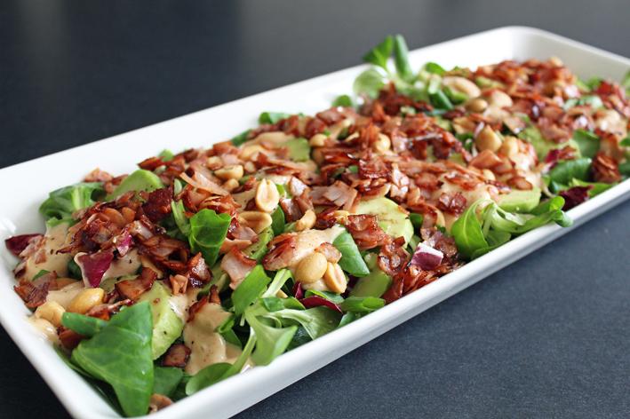 itse tehty salaatti