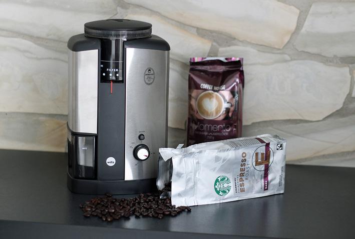 kahvimylly ja kahvi