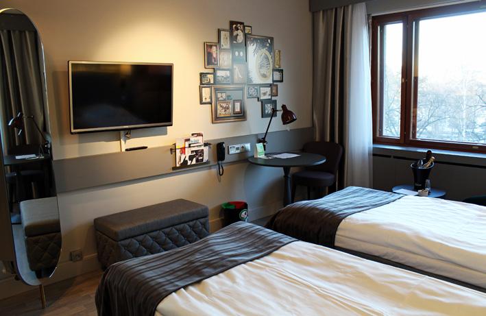 Scandic Park hotellihuone2
