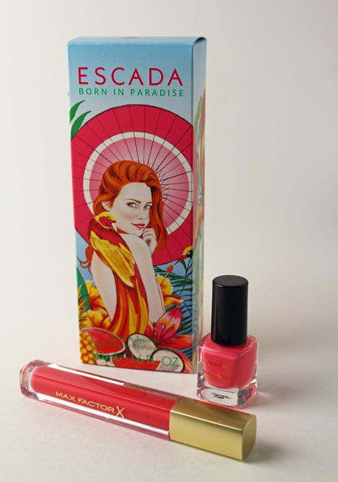 Escada and Max Factor