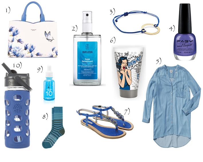Siniset tuotteet